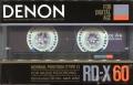 Denon RD-X (1986) JAP