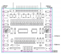 DBX Олимп-003, Э-003, 004. Cхема Akai 747, 11 плат, DIP