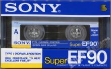 Sony Super EF (1990) EUR